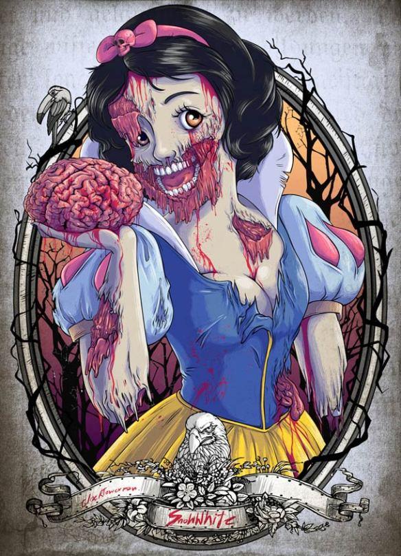 Zombies-Disney-Princesses